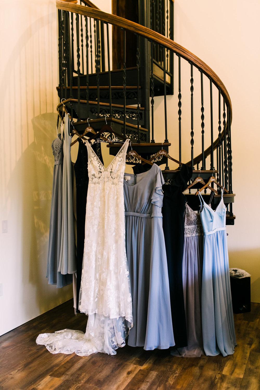 www.santabarbarawedding.com | Loriana | Hannah Kate Photo | Wedding Gown and Bridesmaids Dresses