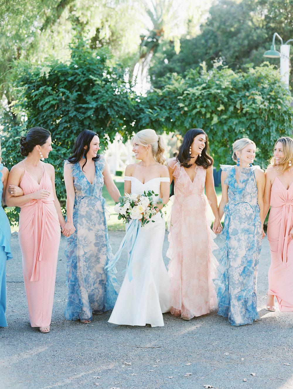 www.santabarbarawedding.com | Soleil Events | Mattei's Tavern | Bride and Bridesmaids