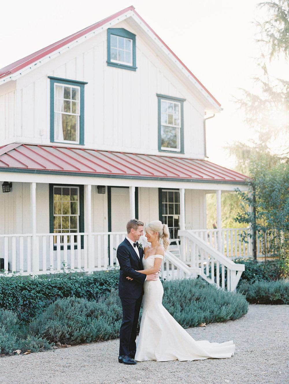 www.santabarbarawedding.com | Soleil Events | Mattei's Tavern | Bride and Groom