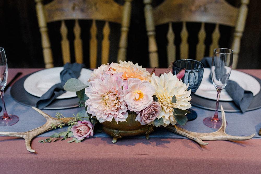 www.santabarbarawedding.com   Cold Spring Tavern   Wunderland & Co.   Braden Young   Flower Arrangement