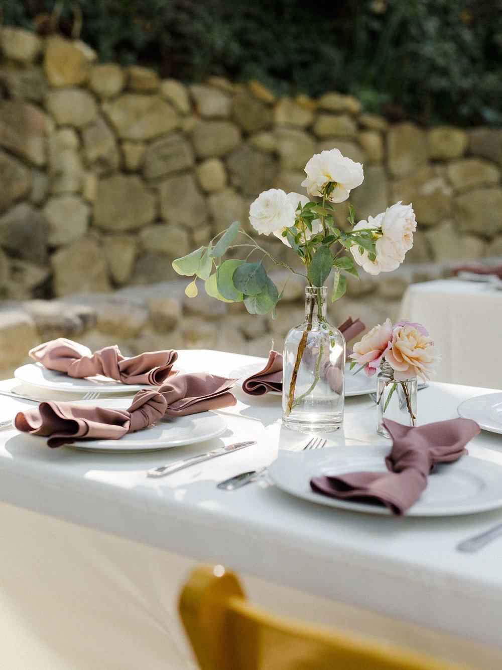 www.santabarbarawedding.com   Cold Spring Tavern   Wunderland & Co.   Braden Young   Reception Table Details