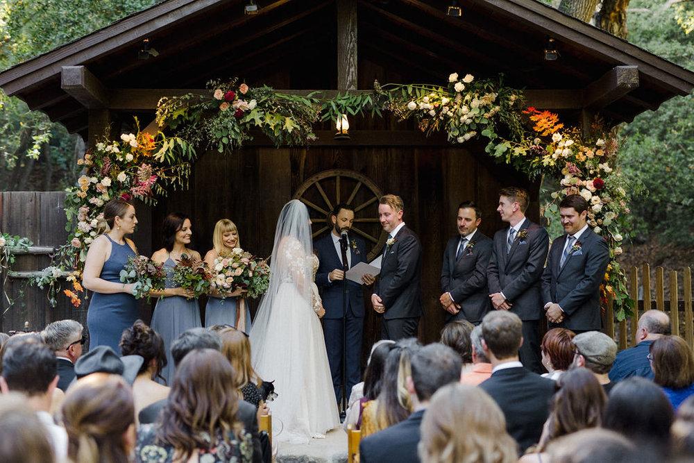 www.santabarbarawedding.com   Cold Spring Tavern   Wunderland & Co.   Braden Young   Ceremony