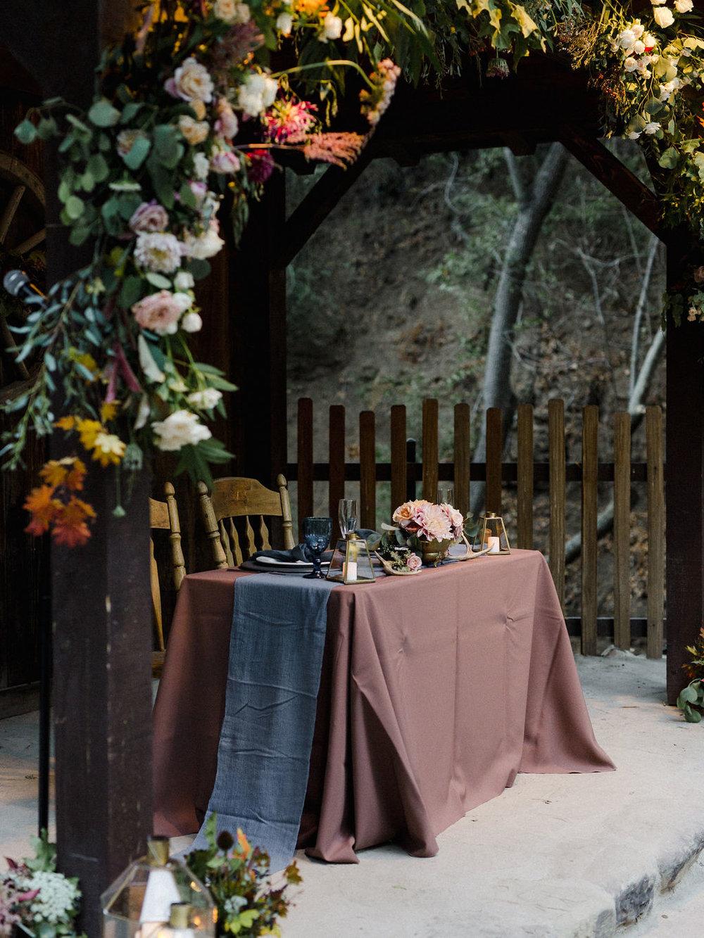 www.santabarbarawedding.com   Cold Spring Tavern   Wunderland & Co.   Braden Young   Head Table