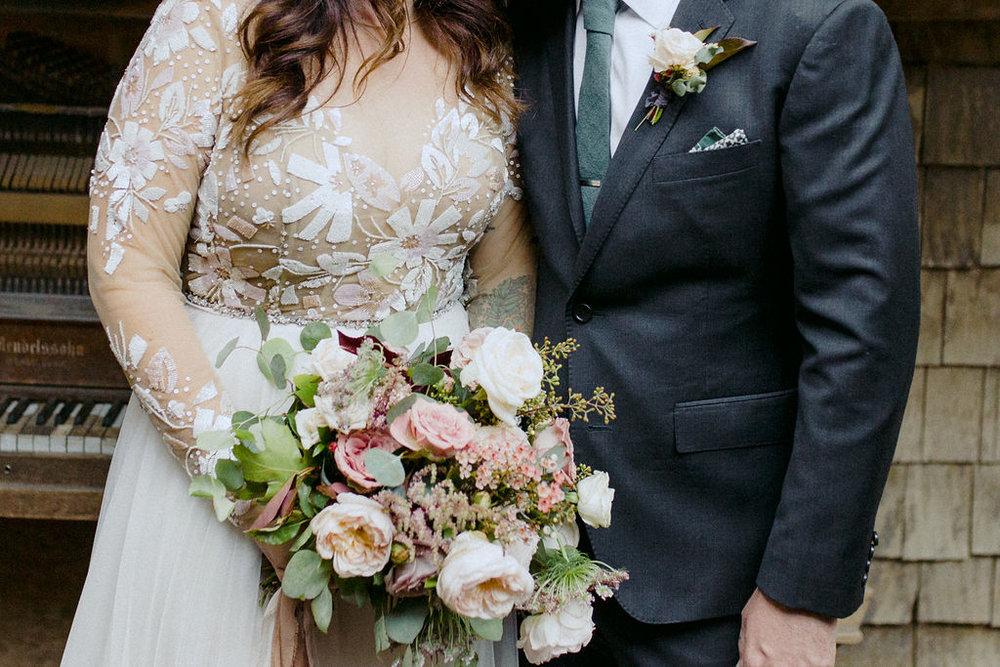 www.santabarbarawedding.com   Cold Spring Tavern   Wunderland & Co.   Braden Young   Bridal Bouquet