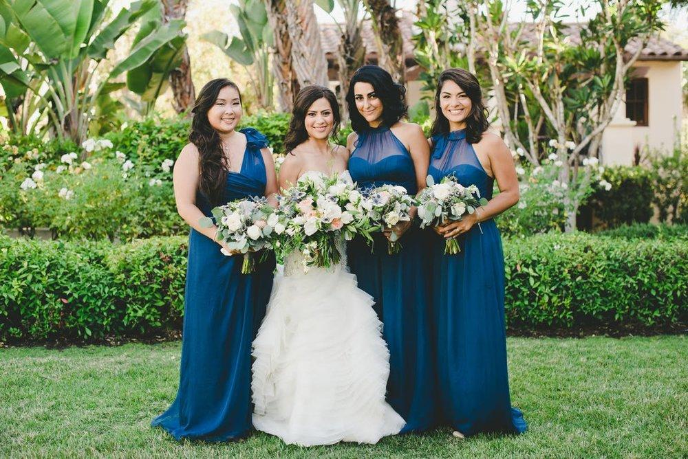 www.santabarbarawedding.com | Bacara Resort & Spa | Alegria By Design | onelove photography | Bride and Bridesmaids