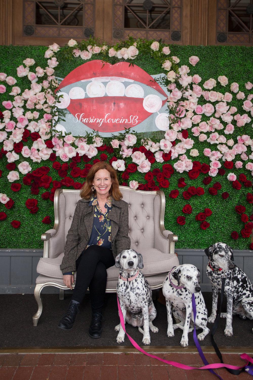 Santa Barbara Wedding Style | The Granada Theatre | Hilary Elizabeth Lettering | Fifty Flowers | The Tent Merchant | Kelsey Crews Photo