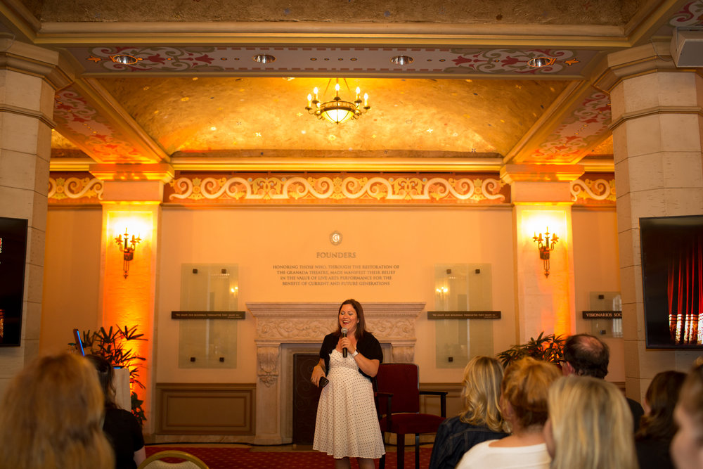 Santa Barbara Wedding Style | The Granada Theatre | Zohe Felici | Felici Events | SPARK Creative Events | Kelsey Crews Photo