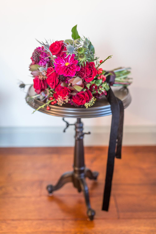 www.santabarbarawedding.com | Kiel Rucker | Santa Barbara Elopement | Kestrel Park | Bouquet