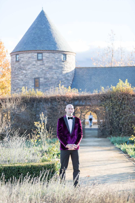 www.santabarbarawedding.com | Kiel Rucker | Santa Barbara Elopement | Kestrel Park | First Look