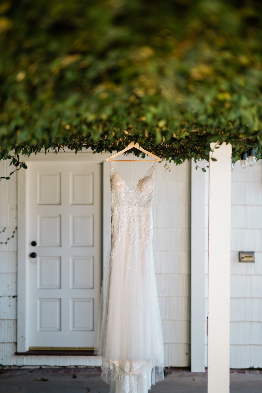 www.santabarbarawedding.com | Brandon Bibbins Photography | The Cottages at Polo Run | Bride's Wedding Gown