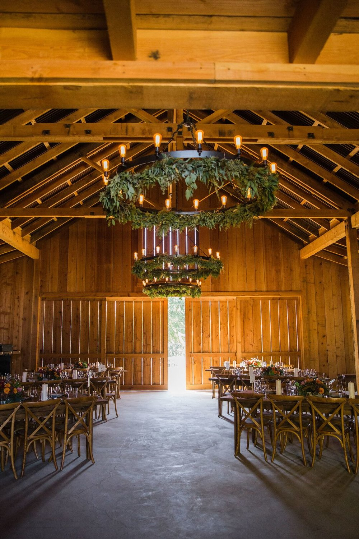 www.santabarbarawedding.com | Venue: Firestone Vineyard | Photographer: Just Kiss Collective | Wedding Dress: BHLDN | Reception Site - Interior