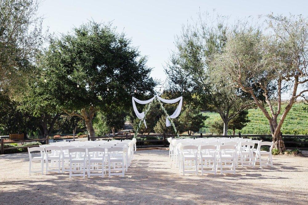 www.santabarbarawedding.com | Venue: Firestone Vineyard | Photographer: Just Kiss Collective | Ceremony Site