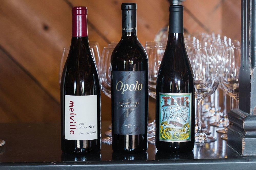 www.santabarbarawedding.com | Venue: Firestone Vineyard | Photographer: Just Kiss Collective | Wine Selection