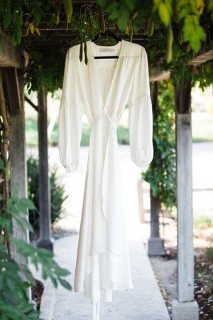 www.santabarbarawedding.com | Venue: Firestone Vineyard | Photographer: Just Kiss Collective | Wedding Dress: BHLDN | Wedding Gown
