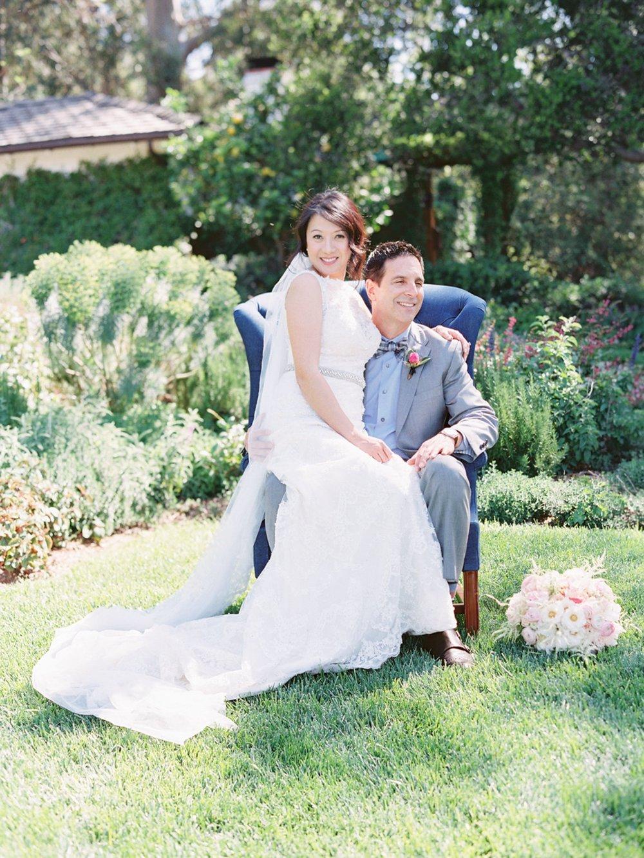 www.santabarbarawedding.com   Michael + Anna Costa Photography   San Ysidro Ranch   Twine Events   Maggie Sottero   Bride and Groom