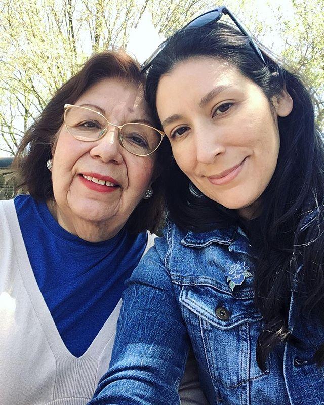 Mechita, you are my sun, moon, and stars. Happy Mother's Day Mechita!
