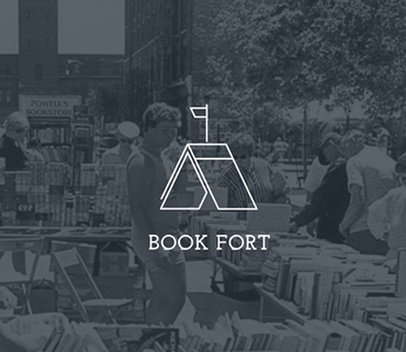 All readings will take place outside the Book Fort tent in Union Park.