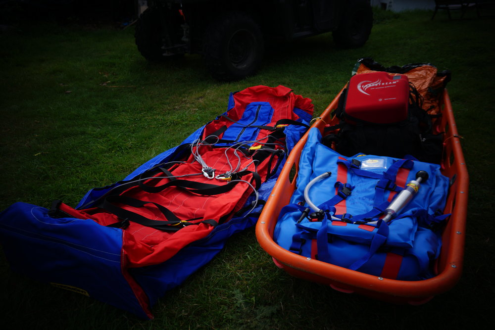 Some of our Emergency Rescue Equipment