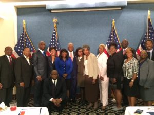 Nan Baldwin of the BBA, third from right, with Congresswoman Terri Sewell and Birmingham Mayor William Bell, center, and a delegation from Birmingham in Washington, D.C., to lobby for the Birmingham Civil Rights National Historical Park.