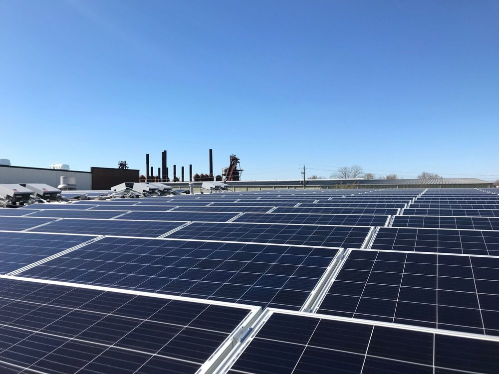 Marx Brothers has been increasingly interested in sustainability efforts, including the installation of a 132-kilowatt solar photovoltaic energy system on the roof of its facility.