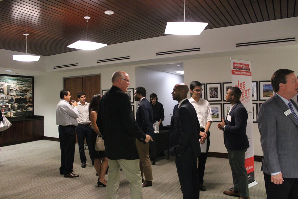 The event was held at the Birmingham Business Alliance office, and 12 companies were spotlighted.