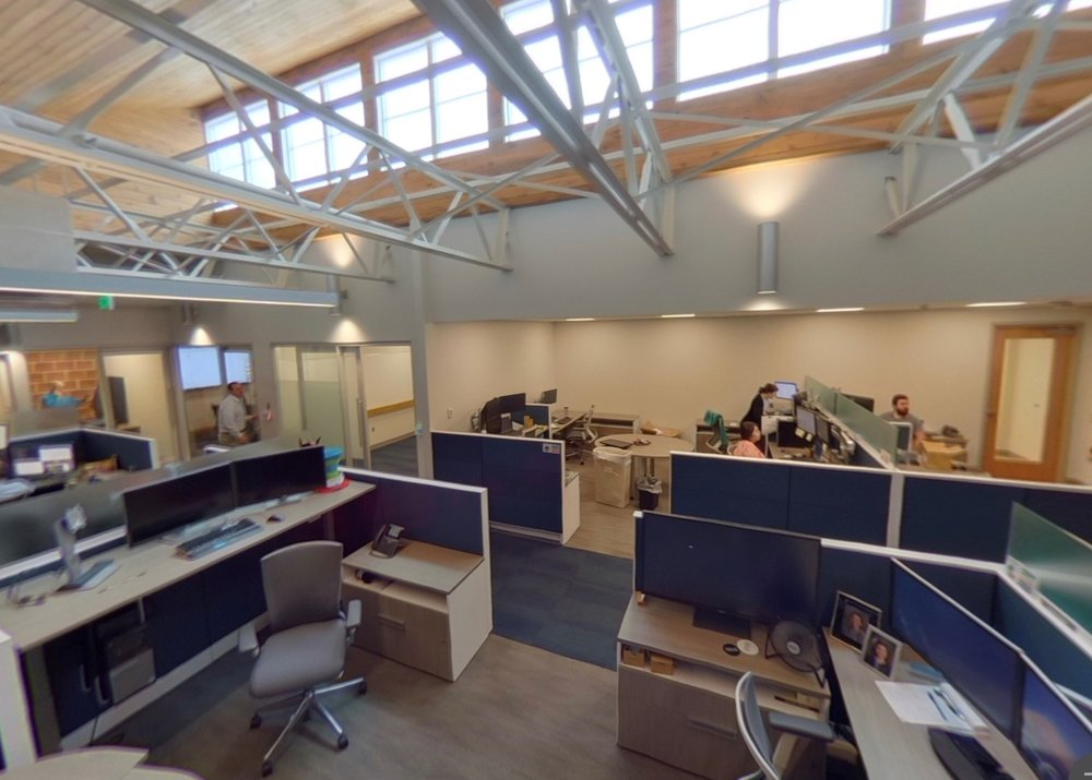 Brasfield & Gorrie's newly opened IT center is one phase in an ongoing renovation and expansion of the company's headquarters.