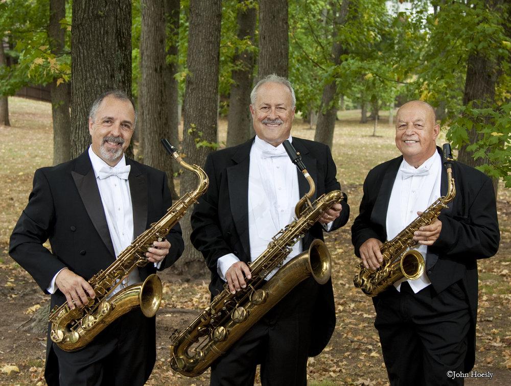 Tenor Sax, Baritone Sax & Alto Sax
