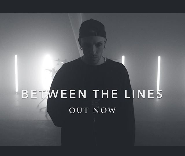 'Between the Lines' available now on @spotify @itunes @googleplaymusic @applemusic