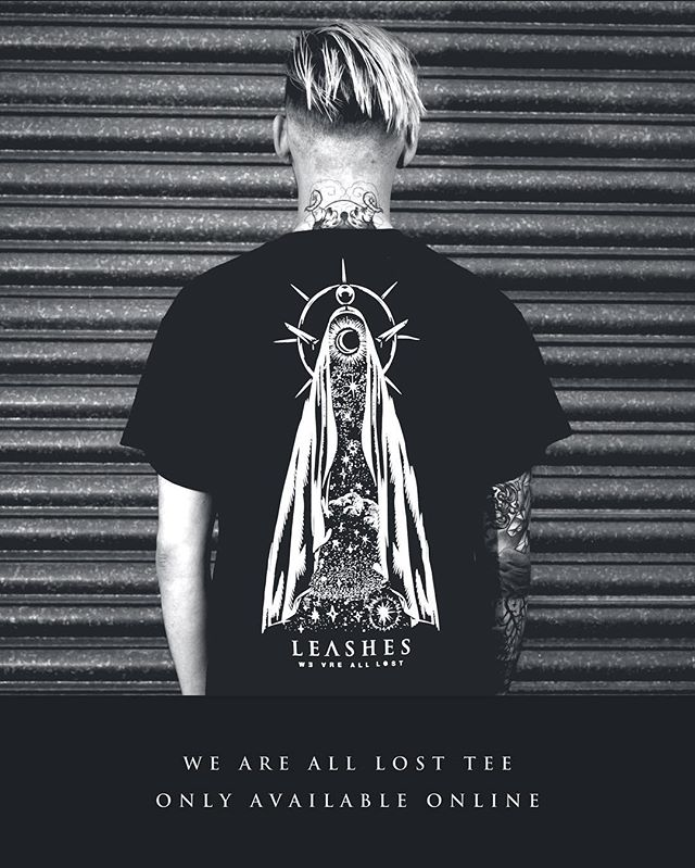 NEW TEE available only @ leashesmusic.co.uk - 📸 @nikonviking