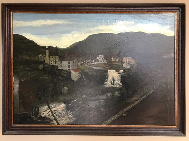 This jem was spotted in a clients house. Who recognizes this scene? #catskills #hudsonvalley #purlingny #athensny