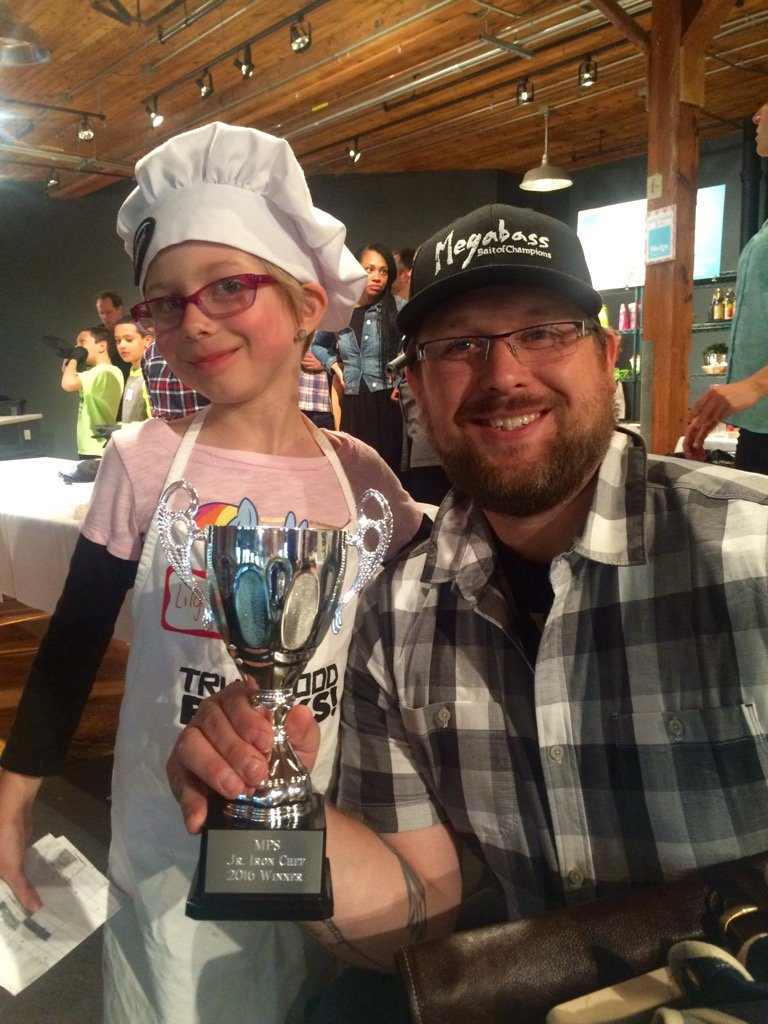 Chef Harcey's Team wins at  Junior Iron Chef 2016