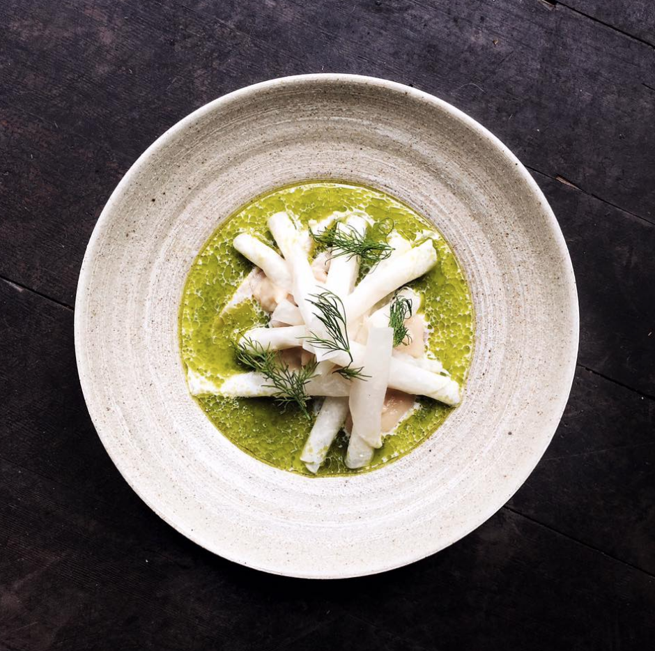 """Tom Sietsema  of  The Washington Post  writes """"If you have time for only one meal in Twin Cities, treat yourself to Nordic-cool @upton43 & fit in pickled herring."""""""