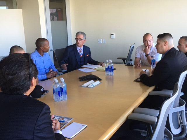 A Win Win - Mike Pereira meets with our Vets    Read the Story