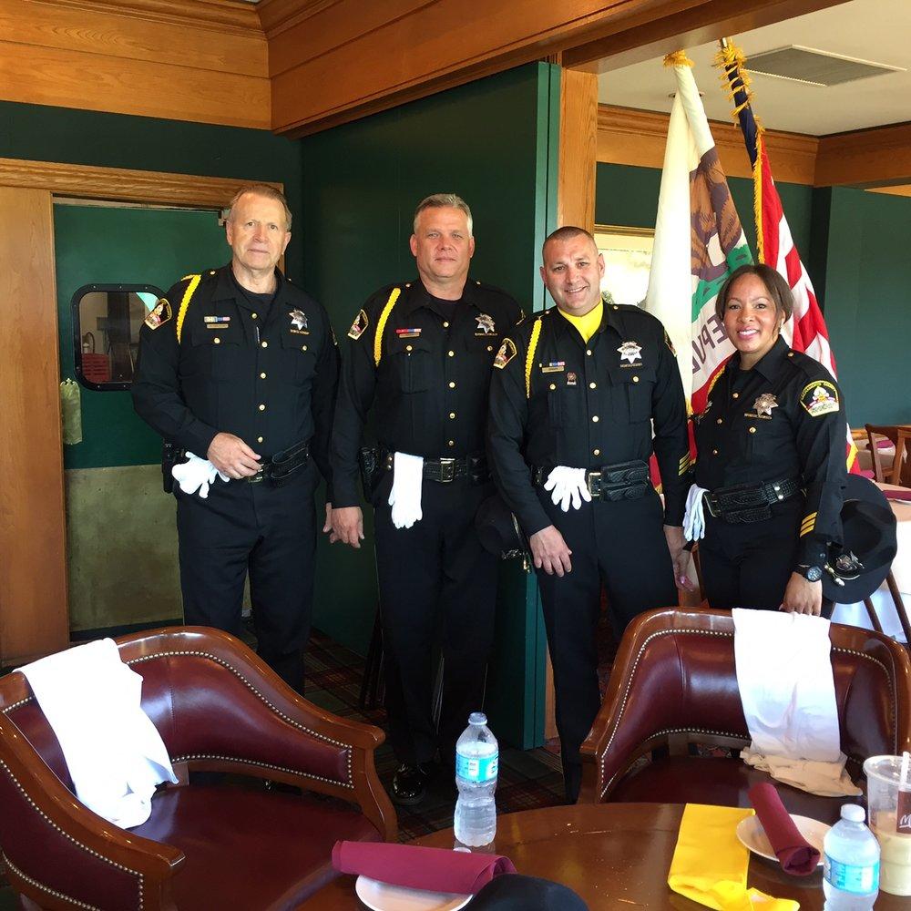 Members of Sacramento Sheriffs Department Honor Guard