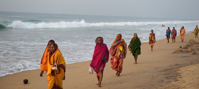 Bay of Bengal, Puri, Orissa