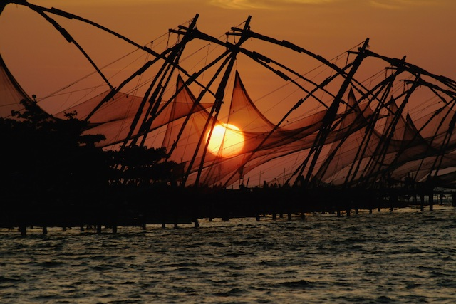 Chinese Fishing Nets, Kochi, Kerala