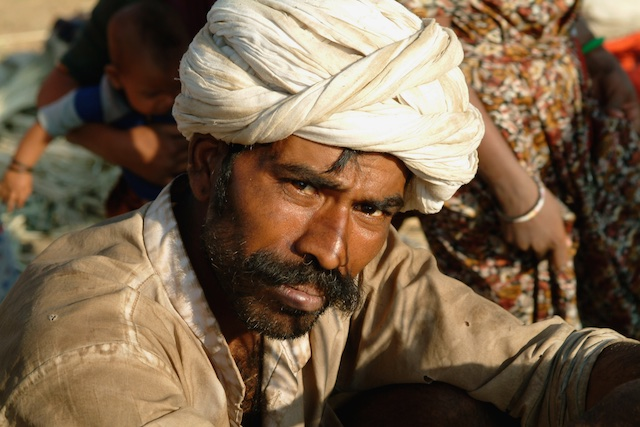 Tribal man, Rajasthan