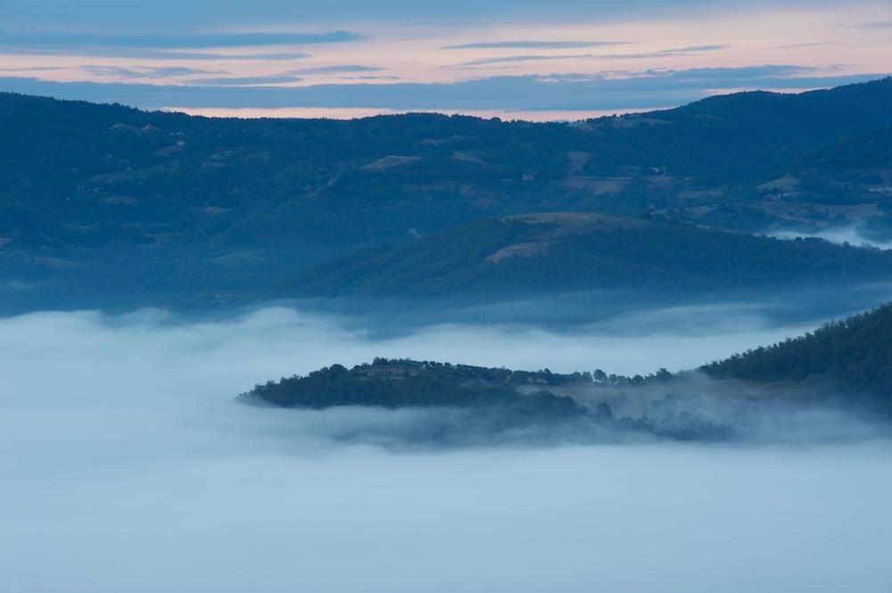 Umbrian mist