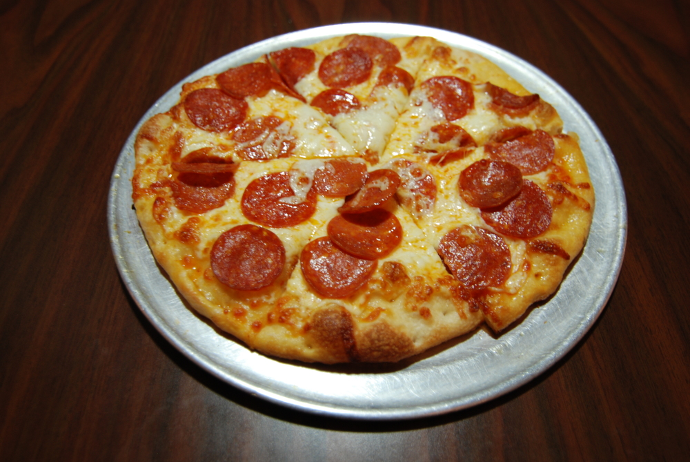 Individual Pepperoni Pizza