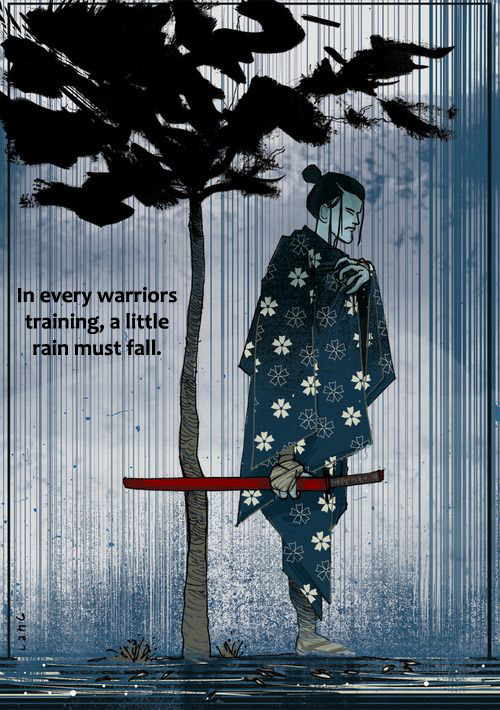 samurai rain copy