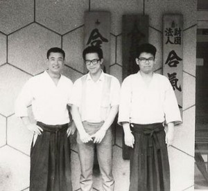 Suganuma Shihan on the left.  Furuya Sensei on the right.