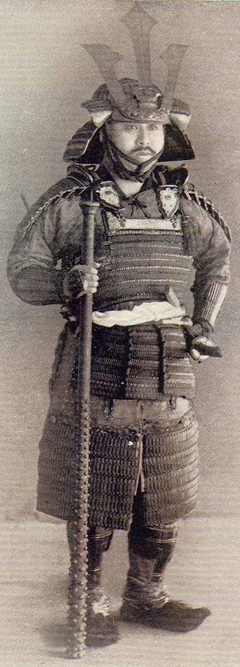 Samurai with a kanabo