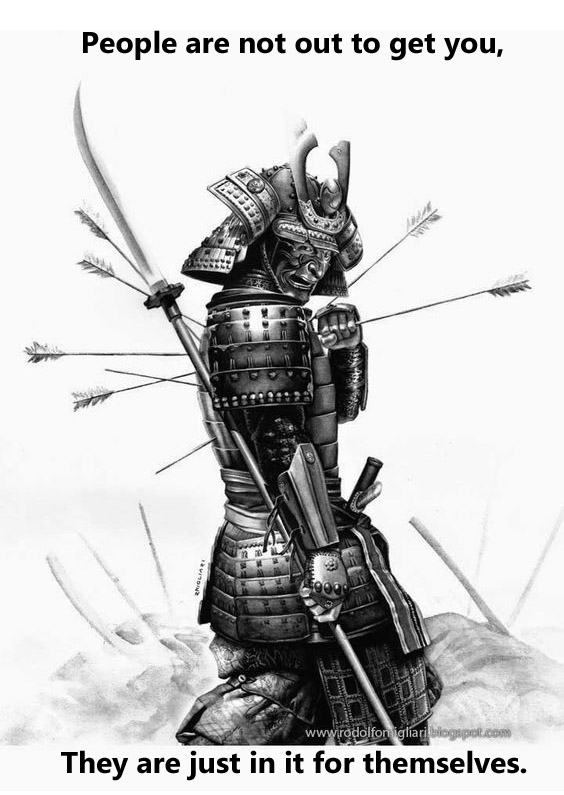 samurai arrow copy