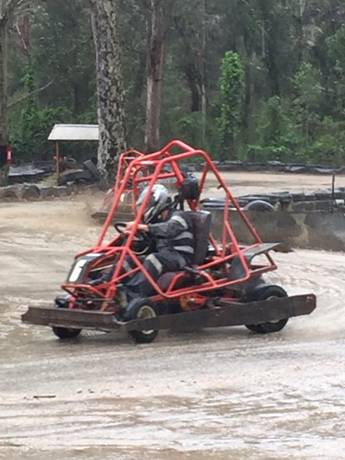 Unless this is your go kart, then do whatever you want. (   source   )