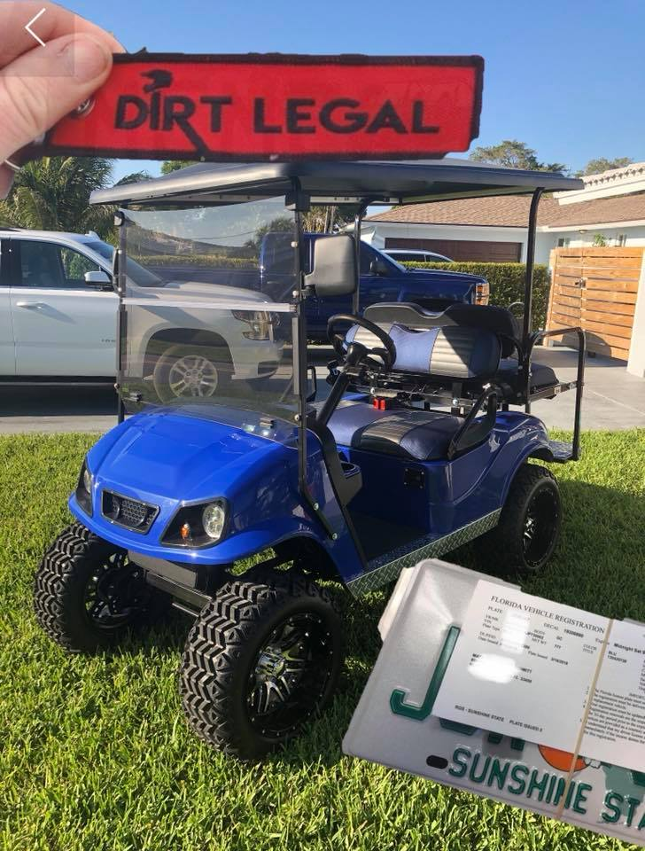 Dirt Legal Golf Cart