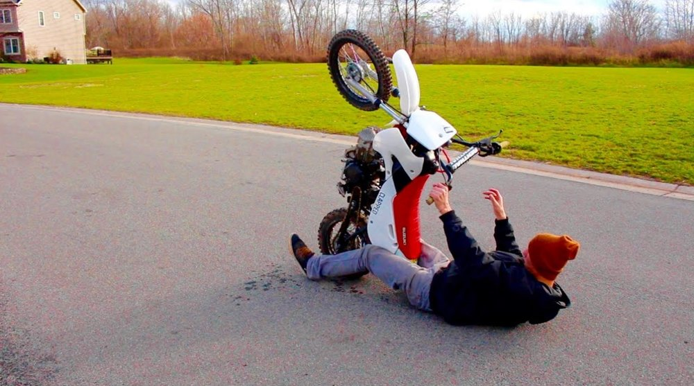 Wheelie Fail!