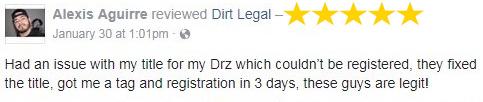 Dirt Legal Review