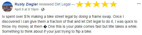 Dirt Legal Review