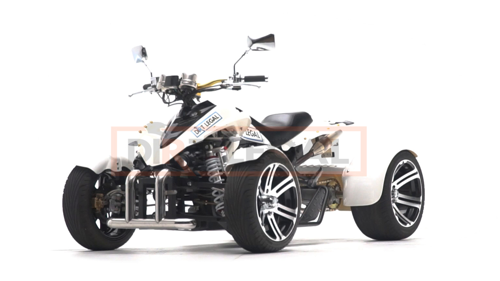 Yes, you can make your ATV Street Legal  Here's ours