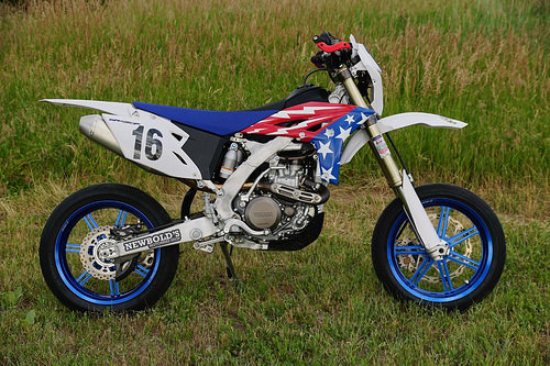 headlight, taillight, turn signals and horn will all draw off generator,  which will inevitably be small-capacity on a kick-start only dirt bike